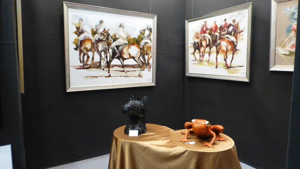Guangzhou Art Fair with Europ'Art China gallery