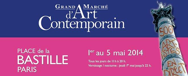 Grand marché d'art contemporain – La Bastille (Stand 22)